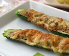 Zucchine ripiene di tonno,cuicna,ricette,zucchine,tono,ricetta,secondi piatti,